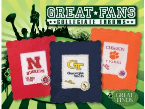 Great Fans Collegiate Throws