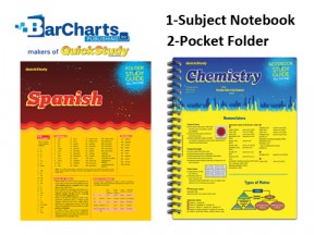 BarCharts/QuickStudy Notebook Folder & Display
