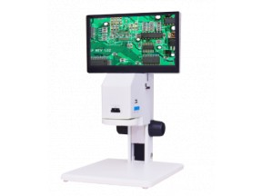 "Vividia VM-2000 Industrial All-In-One Tabletop Tool Video Microscope with Measurement 11.6"" LCD Scre"