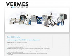 VERMES Microdispensing - MDS 3000 Series - Product Overview