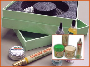 Low Temp. Lead Free Solder Kits For Heat Sensitive Assembly
