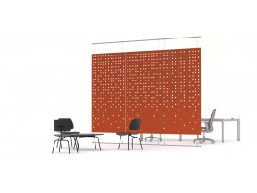 Acoustic Work Zone Divider