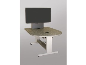 MCDST-42 x 60L Height Adjust Collaboration Table