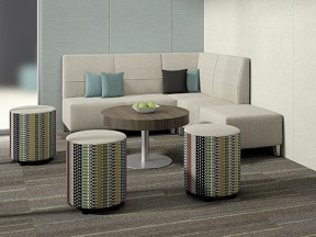 Fringe lounge furniture with Whimsy impromptu seating