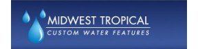 Midwest Tropical-Custom Water Features