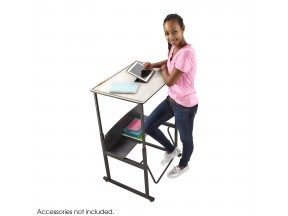 AlphaBetter® Height-Adjustable Student Desk