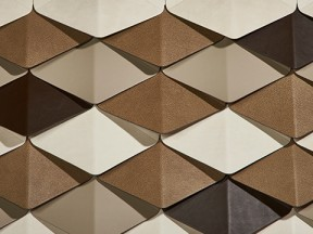 Architectural Leather Wall Panels and Wall Tiles