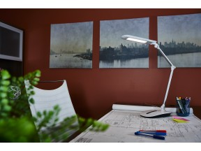OttLite WorkWell Stretch Desk Lamp