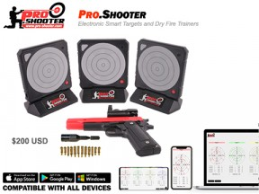 Pro-shooter Electronic Smart Target System and Dry Fire Trainers