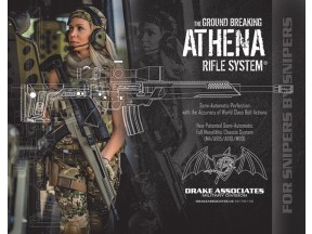 DRAKE ATHENA SEMIAUTOMATIC PRECISION CHASSIS RIFLE SYSTEM